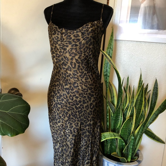 Zara Dresses & Skirts - NEW Zara coveted cheetah print slinky dress